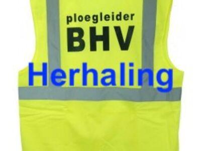 BHV Ploegleider Herhaling
