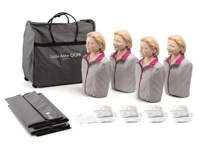 LAERDAL LITTLE ANNE QCPR 4-PACK