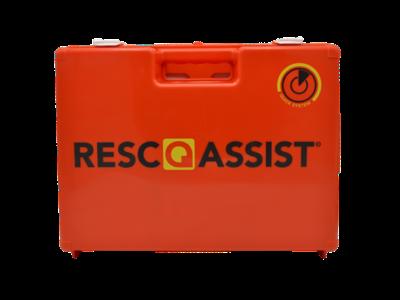 Verbandtrommel Q100 Resc Q Assist oranje (gevuld)