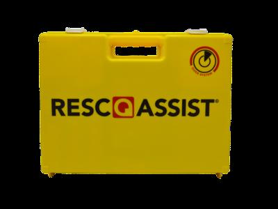 Verbandtrommel Q25 2016 Resc Q Assist geel (gevuld)